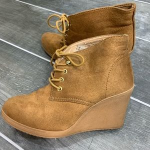 Merona Lace Up Booties
